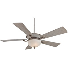 52-Inch Minka Aire Fans Delano Driftwood Ceiling Fan with Light