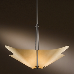 Hubbardton Forge Lighting Kirigami Dark Smoke Pendant Light