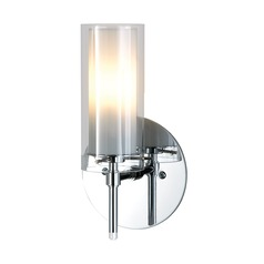 Alico Lighting Tubolaire Chrome Sconce