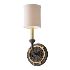 Troy Lighting Latitude Liberty Rust Sconce