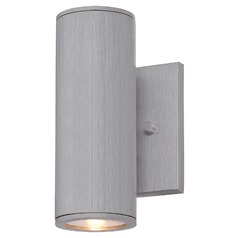Minka Lighting Skyline Brushed Aluminum LED Outdoor Wall Light