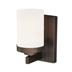 Sorin Architectural Bronze Sconce by Vaxcel Lighting