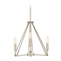 Designers Fountain Uptown Satin Platinum Mini-Chandelier