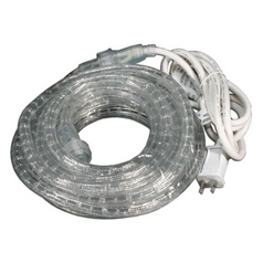 American Lighting American Lighting Incandescent Rope Light Kits Clear 600-Inch LED Rope Light 018-0006