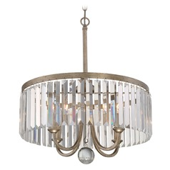 Quoizel Mirage Vintage Gold Pendant Light
