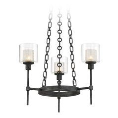 Designers Fountain Cazadero Weathered Pewter Mini-Chandelier