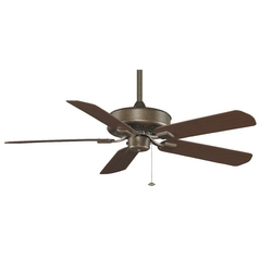 Fanimation Fans Ceiling Fan Without Light in Aged Bronze Finish TF910AZ
