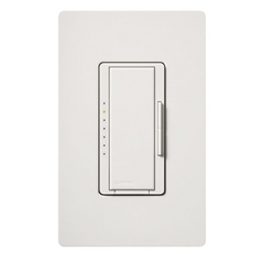 Dimmer Switch in White Finish