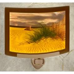 The Porcelain Garden Balmy Beach Colored Night Light