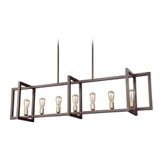Feiss Lighting Finnegan New World Bronze Island Light