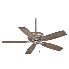 54-Inch Minka Aire Timeless Burnished Nickel Ceiling Fan Without Light