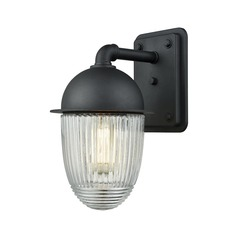 Elk Lighting Channing Matte Black Outdoor Wall Light