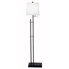 Design Classics Lighting Linear Floor Lamp with Shade  6066-614 / SH7435