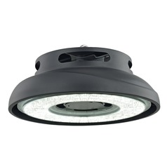 LED UFO High-Bay Light 125W 120-277v 16000LM 5000K 80 Degree Beam Spread
