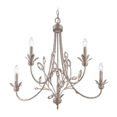 Quoizel 5-Light Chandelier in Italian Fresco