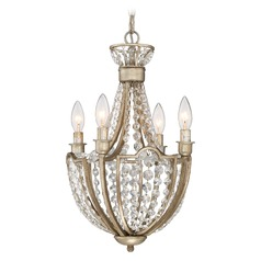 Quoizel Majesty Vintage Gold Mini-Chandelier
