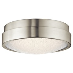 Elan Lighting Piazza Brushed Nickel LED Flushmount Light