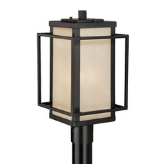 Hyde Park Espresso Bronze Post Light by Vaxcel Lighting
