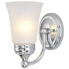 Dolan Designs Lighting Sconce with Frosted Glass 3131-26