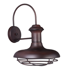 Maxim Lighting Wharf Oriental Bronze Outdoor Wall Light