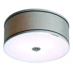 Kenroy Home Margot Brushed Steel Flushmount Light