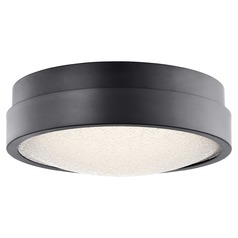Elan Lighting Piazza Bronze LED Flushmount Light