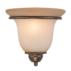 Monrovia Royal Bronze Sconce by Vaxcel Lighting