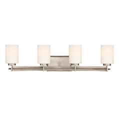 Four-Light Antique Nickel Vanity Light
