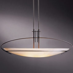 Hubbardton Forge Lighting Mackintosh Dark Smoke Pendant Light