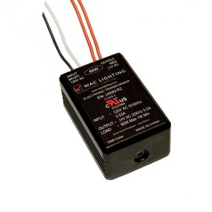 WAC Lighting Transformer Black Under Cabinet Transformer