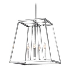 Feiss Lighting Conant Chrome Pendant Light