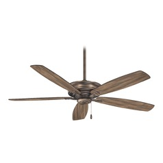 52-Inch Minka Aire Kafe' Heirloom Bronze Ceiling Fan Without Light