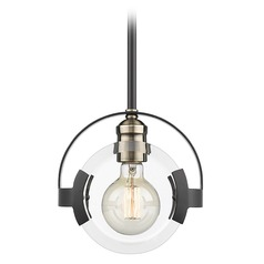 Golden Lighting Amari Black Mini-Pendant Light