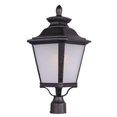 Maxim Lighting Knoxville Bronze Post Light