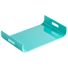 Cyan Design Monroe Turquoise Lacquer Tray