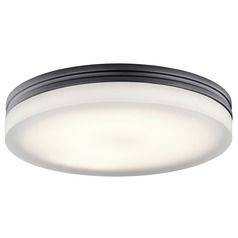 Elan Lighting Rylee Bronze LED Flushmount Light