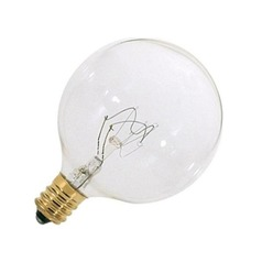 Satco Lighting 40-Watt Candelabra Light Bulb A3923
