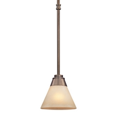 Dolan Designs Lighting Mini-Pendant with Cloud Glass 1061-206