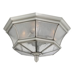 Quoizel Newbury Pewter Outdoor Ceiling Light