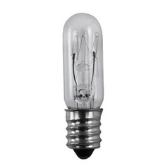 Incandescent Tube Light Bulb Candelabra Base Dimmable