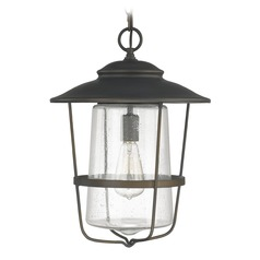 Capital Lighting Creekside Old Bronze Outdoor Hanging Light