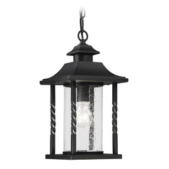 Savoy House Lighting Dorado Black Outdoor Hanging Light