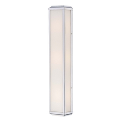 Daventry Bath Polished Nickel Bathroom Light - Vertical or Horizontal Mounting