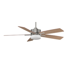 Fanimation Fans Fanimation Satin Nickel Landan DC Motor Ceiling Fan with LED Light FPD8087SN