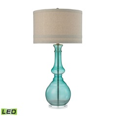 Dimond Lighting Seaspray LED Table Lamp with Drum Shade