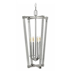 Frederick Ramond Empire Polished Nickel Pendant Light