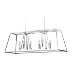 Feiss Lighting Conant Chrome Island Light