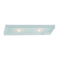 Sea Gull Lighting White 14-Inch Linear Light