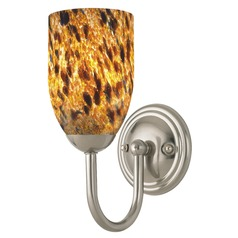 Design Classics Fountain Fuse Satin Nickel Sconce