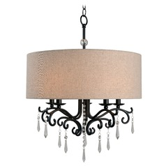 Kenroy Home Lucille Oil Rubbed Bronze Mini-Chandelier
